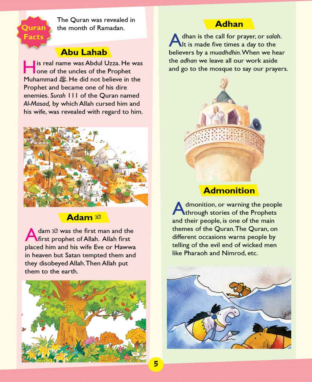Quran Dictionary For Kids (hb)